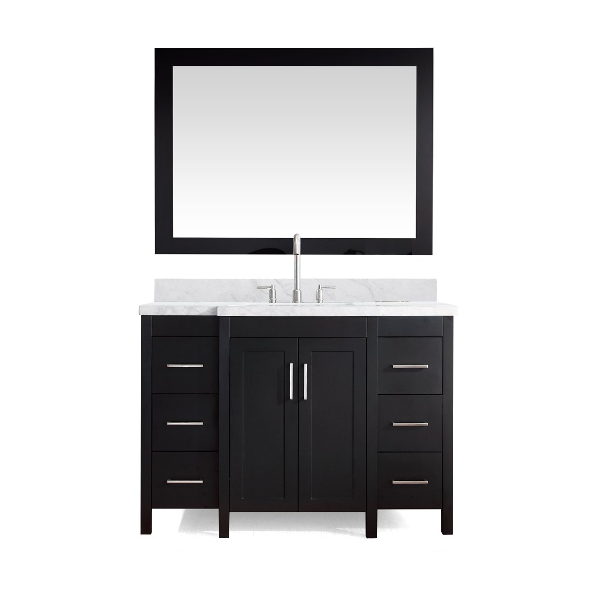 wayfair single reviews improvement design zipcode vanity bathroom home modern pdx knighten set