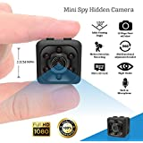 Shop360z Mini Spy Hidden Camera - Security Nanny, Dash Cam With Motion Detection and Night Vision, Full HD 1080p Indoor/Outdoor for Home, Car and Office.