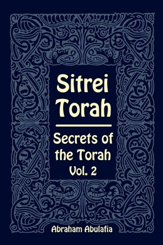 Sitrei Torah, Secrets of the Torah, Vol. 2 by Providence University