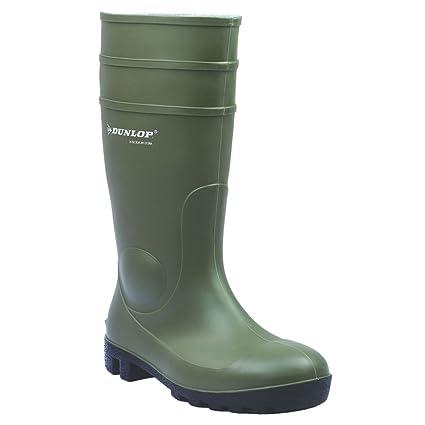 Dunlop Protomastor 142VP botas seguridad verde talla 7