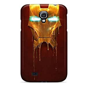 New Arrival Iron Man Mask ZmYgIja4689tqocr Case Cover/ S4 Galaxy Case