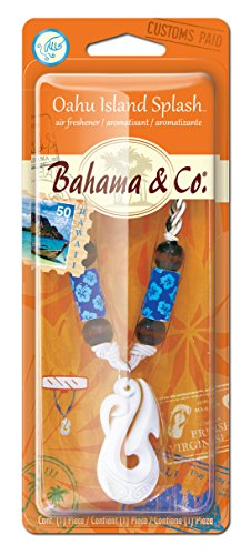 Bahama & Co. E301521100 Bone Hook Necklace, Oahu Island Splash