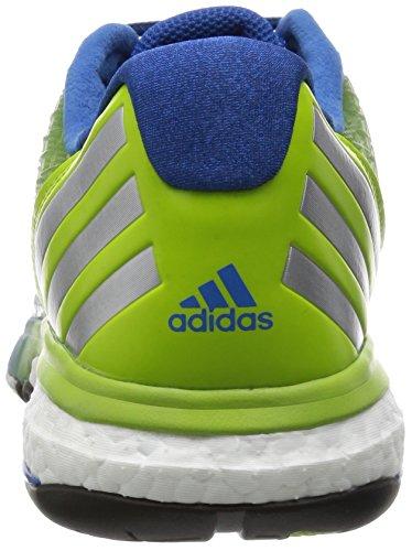 adidas Performance ENERGY VOLLEY BOOST Zapatillas para Volleyball Voleibol Azul Verde para Hombre