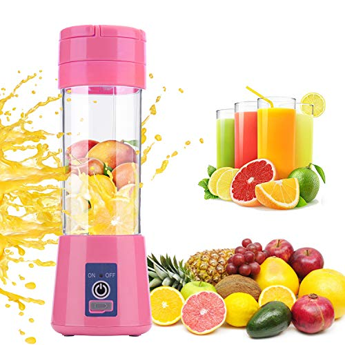 Portable Blender Juicer Maker Small Blender Personal Blender Easy to Clean USB Rechargeable for Baby Elderly Pregnant Women Travel Camping Office Kitchen Vegetables Food Crusher Shakes and Smoothies
