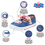 Peppa Pig Toddler Girls Denim Floral Sneakers with