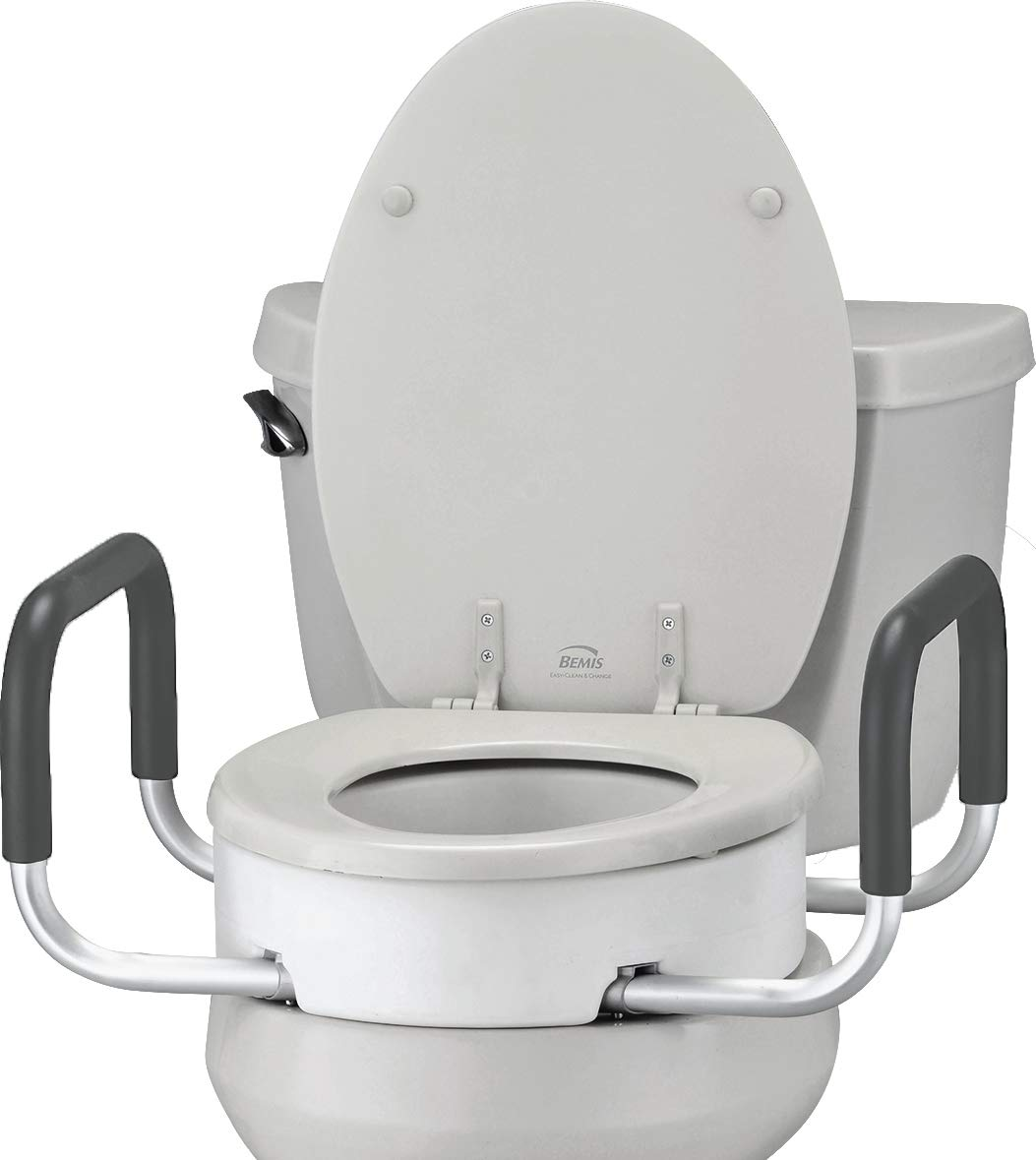 Groovy Nova Toilet Seat Riser With Handles Raised Toilet Seat For Under Seat With Padded Arms For Elongated Toilet Seat Spiritservingveterans Wood Chair Design Ideas Spiritservingveteransorg
