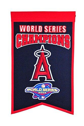 Winning Streak MLB Los Angeles Angels 30516Los Angeles Angels WS Champions Banner, Multicolor, One Size