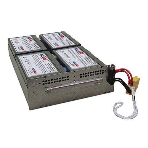 APCRBC133 Compatible Replacement Battery Pack for SMT1500RM2U, SMT1500RM2US by UPSBatteryCenter
