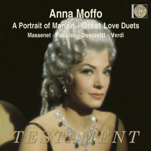 A Portrait of Manon - Great Love Duets with Anna Moffo - Anna Moffo,  Puccini, Massenet, Verdi, Donizetti, Leibowitz: Amazon.de: Musik