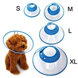 Pet Cone, Legendog Adjustable Pet Protection Cone Recovery Collar Pet Supplies for Dog