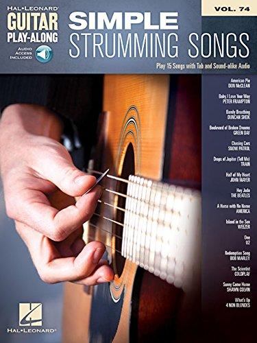 Guitar Play-Along Volume 74: Simple Strumming Songs Book/Online ...