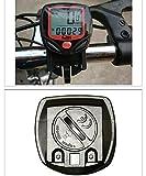 GeoBIX(TM)LCD Display Waterproof Bike Computer Odometer Speedometer Multifunction Bicycle Accessories Clock Stopwatch Bicicleta YC044-SZ