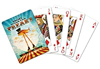 Tree-Free Greetings Standard Playing Card Deck, God Bless The Freaks Themed Boutique Art (49481)