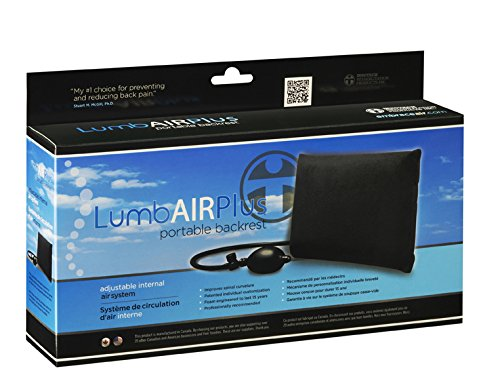 Embrace Air Black Adjustable Air Back Support