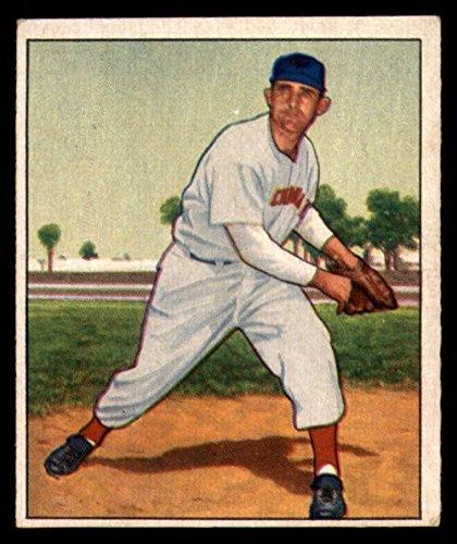 1950 Bowman #80 Howie Fox Reds MLB Baseball Card (RC - Rookie Card) G Good