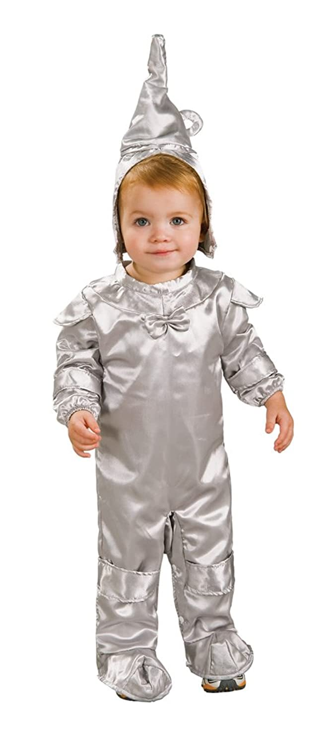 Amazon.com: Wizard Of Oz Tin Man Romper Costume, 1 to 6 Months ...