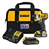 Cheap DEWALT DCF885C2 20-Volt MAX Lithium Ion 1/4-Inch 1.5 Ah Impact Driver Kit (Certified Refurbished)