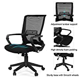 Best high tech office chair - Ergo HQ Mesh Back/Fabric Seats W/Black Frame Easy Review