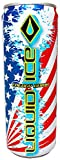 Liquid Ice Energy Drink Limited America, 12 Ounce, 24 Count