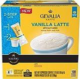 vanilla gevalia - Gevalia 2‑Step Vanilla Latte Espresso Coffee K-cup, 9 Count Pack (Pack of 2)