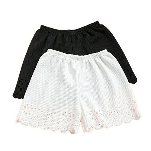 軌道あなたのもの揃えるLucktao 衣装やスカートのインナーにも レディース ジュニア キッズショートパンツ 透け防止 ヨガ フィットネス 見せパン ホットパンツ インナーパンツ