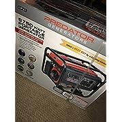 Predator Portable Generator 8750 Peak/7000 Running Watts And Generator Wheel Kit