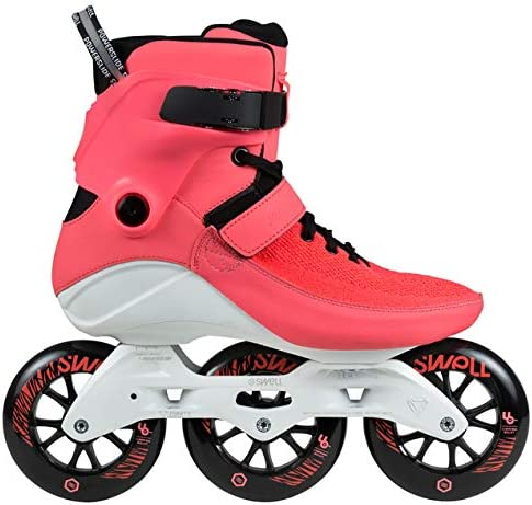 Powerslide Swell 110mm Trinity Bright Crimson 3 Wheel Inline Fitness Speed Skate