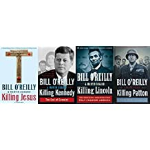 Bill O'Reilly Killing Series Set Hardcover Killy Lincoln, Killing Kennedy, Killy Jesus, Killing Patton, Killing Reagan
