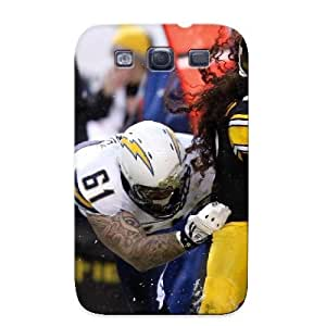 Appearance Snap-on Case Designed For Galaxy S3- San Diego Chargers Pittsburgh Steelers Pictures(best Gifts For Lovers)