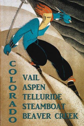 Aspen Vintage Poster - 1