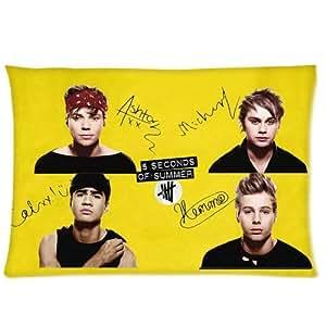 5 Seconds of Summer 5 SOS Signature Pillowcases 20x26 Inch