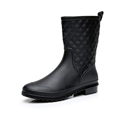 women walking w rain boots high comfortable on comforter a shop black cloud for s boot classic