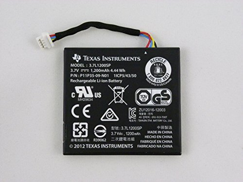 New TI-84 Plus C Silver Replacement Battery Nspire CX and CAS w Wire Genuine TI by fortunershop