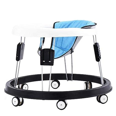 Andador bebe, silla de bebé plegable y ajustable para bebés ...