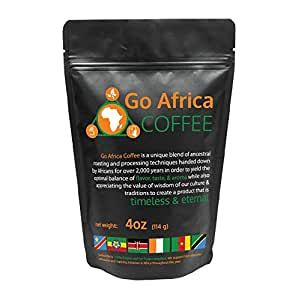 Go Africa Coffee 4oz Bag (Whole Bean) Dark Roast