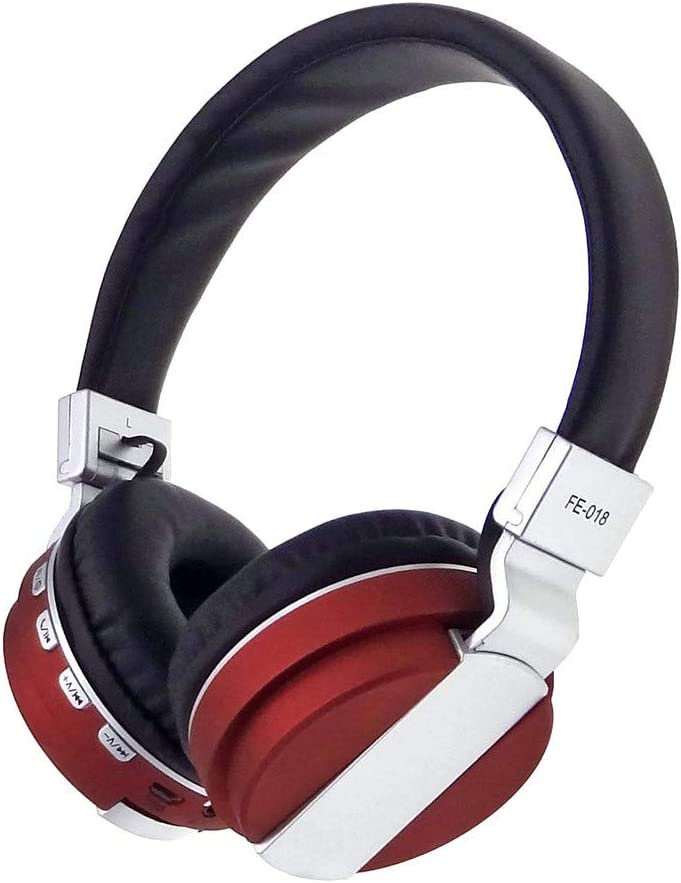 Bluetooth Headphones Over Ear, Stereo Wireless Headset, Foldable, Soft Memory-Protein Earmuffs