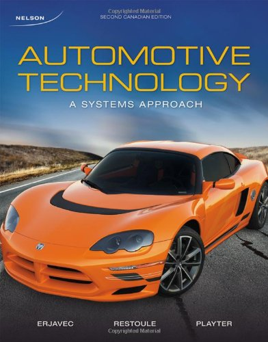 Automotive Technology: A Systems Approach, Second Canadian Edition