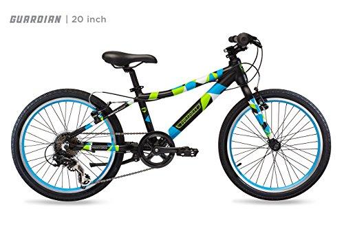 Guardian Lightweight Kids Bike 24 Inch, Safe Patented SureStop Brake System, Kids Mountain Bike, Bike Sizes for Kids 4'2