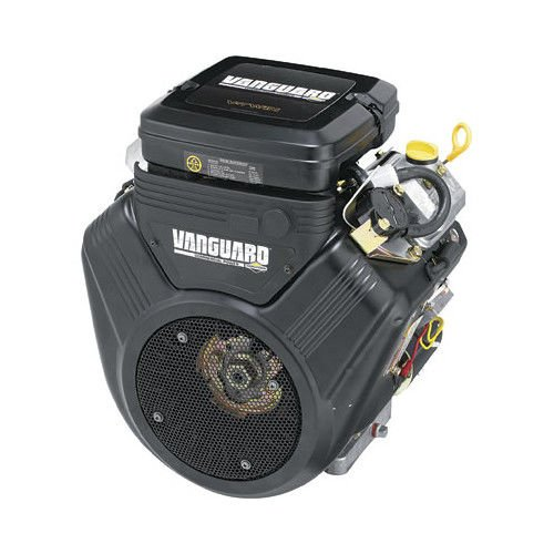 (Briggs & Stratton V-Twin Vanguard OHV Engine with Electric Start - 570cc, 1in. x 2 29/32in. Shaft, Model# 356447-3079-G1)