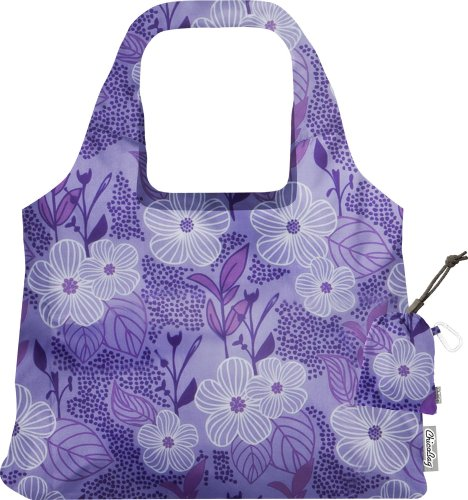 ChicoBag Vita Purple Blooms Collection Bag, Bliss