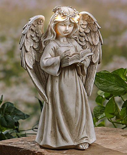 The Lakeside Collection Garden Angels with Solar Halos Book Review