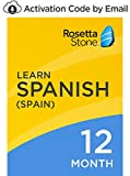 Software : Rosetta Stone: Learn Spanish (Spain) for 12 months on iOS, Android, PC, and Mac- mobile & online access [PC/Mac Online Code]