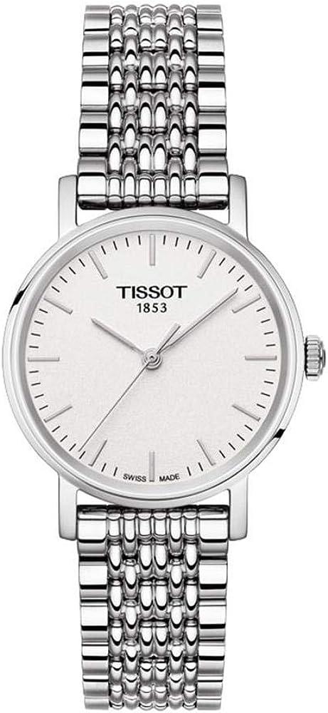 Tissot Reloj Analógico para Unisex Adultos de Cuarzo con Correa en Acero Inoxidable T1092101103300