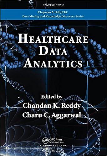 healthcare data analytics chapman hall crc data mining and