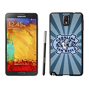 Fashionable And Unique Designed With NCAA Atlantic Coast Conference ACC Footballl North Carolina Tar Heels 8 Protective Cell Phone Hardshell Cover Case For Samsung Galaxy Note 3 N900A N900V N900P N900T Black
