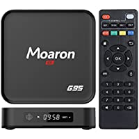 Moaron G95 Android TV Box 4K Quad Core Amlogic S905X Google Android 6.0 Marshmallow LED Display 2.4GHz Wifi Smart Media Player 1G/8G