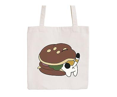 Amazon.com: Canvas bolsa bag-funny dibujos animados ...