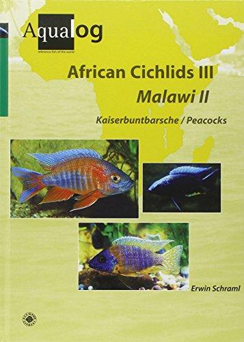 Cichlid Fish - AQUALOG African Cichlids III Malawi II: Peacocks (English and German Edition)