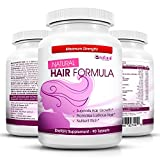 Vitamins for Hair Growth - Amazing Extra Strength Hair Supplement for Women & Man - Advanced Natural Formula for Faster Hair Growth, Thinning Hair & Hair Loss - Natural Food with BIOTIN for Vibrant Hair, Nail & Skin Support and Regrowth Treatment - Perfect Gift for YOUR GLAMOROUS APPEARANCE...