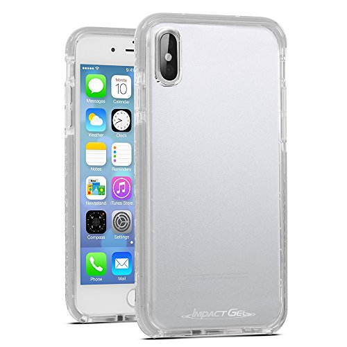 Impact Gel Crusader Lite Series Case for Apple iPhone X - Clear